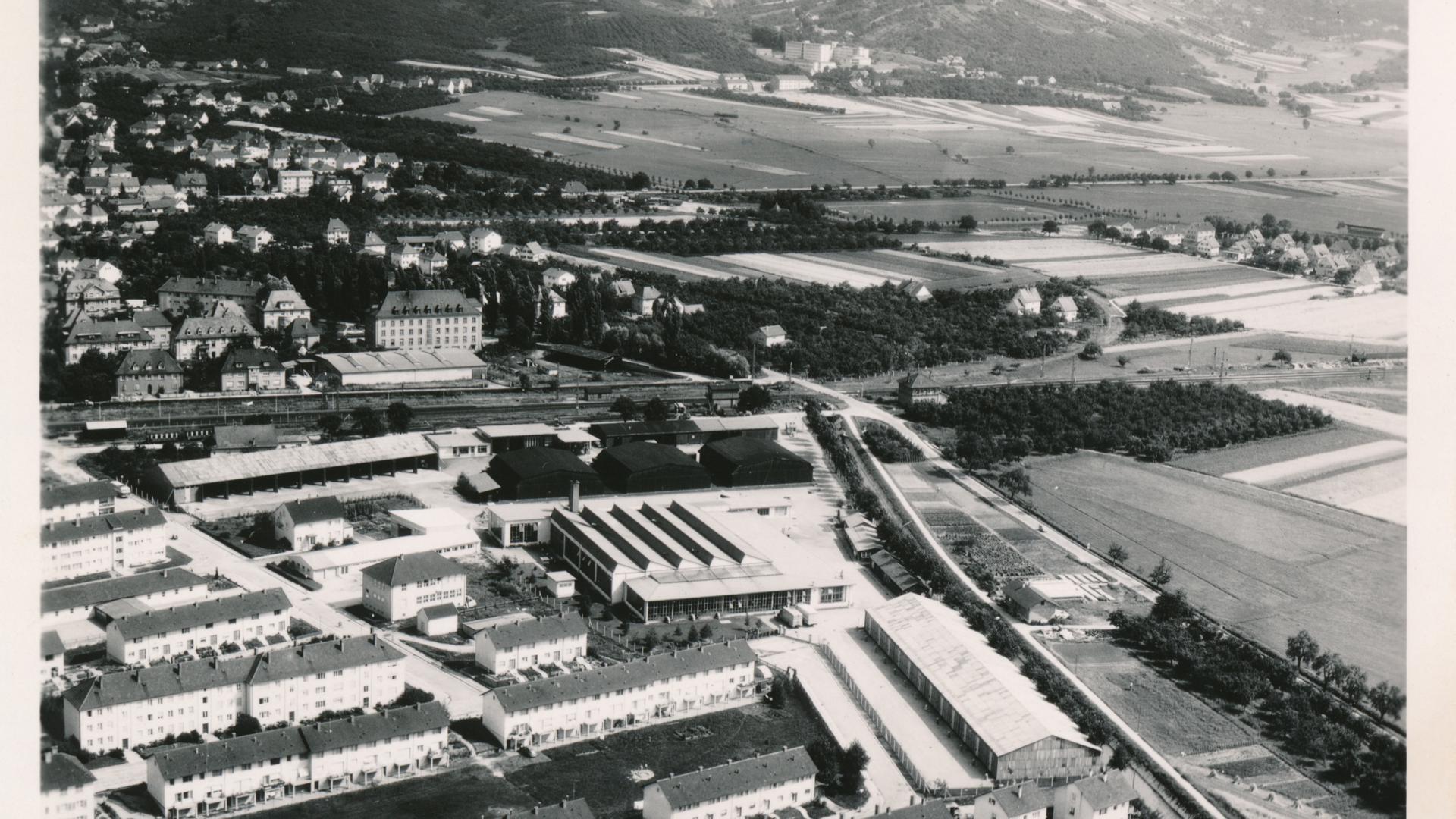 Im Bühler Westen errichteten die Franzosen viele Wohn- und Gewerbegebäude.