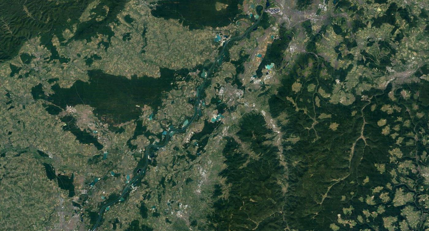 Das PFC-Land in Mittelbaden - das Grundwasser ist großflächig mit den Chemikalien belastet