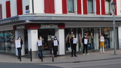 Protest auf der Straße