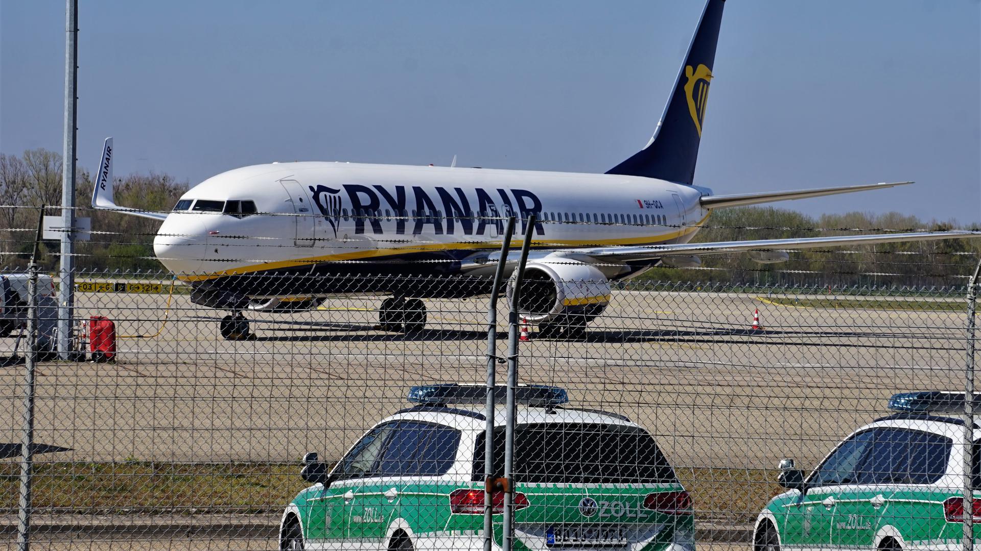 Ein Flughzeug am Baden-Airport