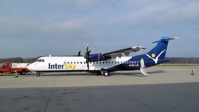 Intersky ATR 72 am Baden-Airport