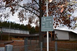 Der Schulhof der Grundschule Greffern.