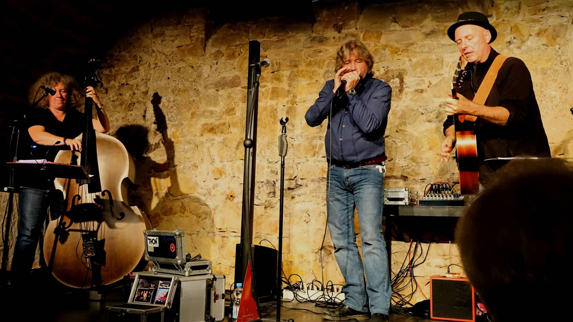 Albert Koch's Blues Acoustic Community Schüttekeller Bühl
