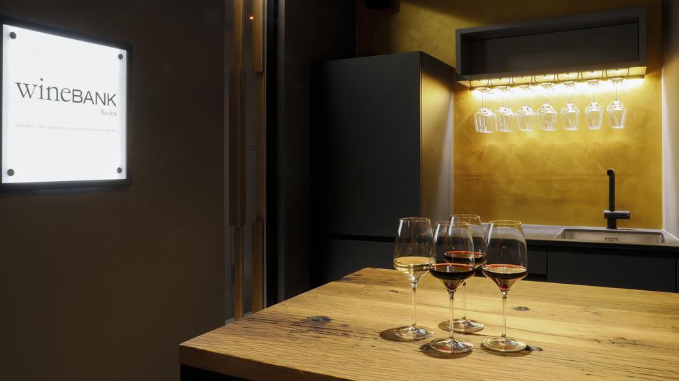 Import aus dem Rheingau: Das Konzept der Wine-Bank startete 2009 in Hattenheim.