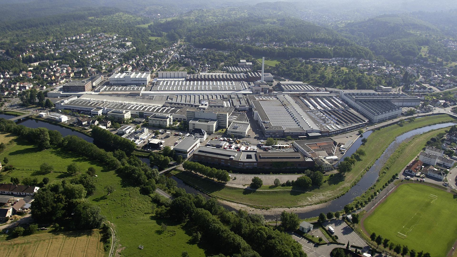 Mercedes-Benz Werk Gaggenau   Mercedes-Benz Gaggenau plant