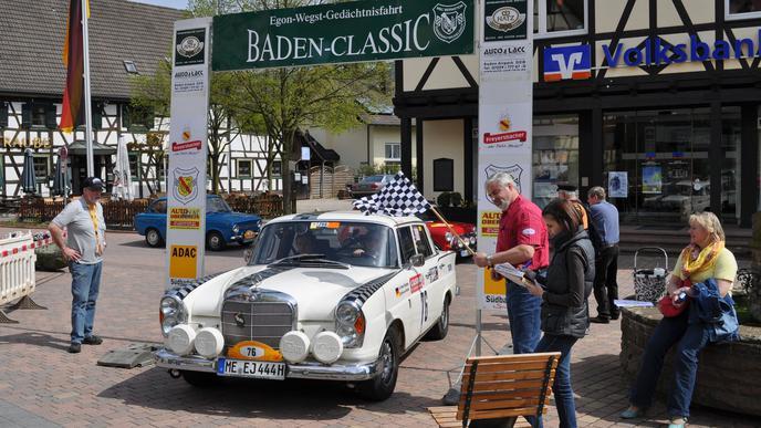 Baden-Classic MSC Bernstein Michelbach Gleichmäßigkeitsrallye 2012 Motorsport Oldtimer