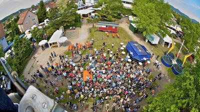 Maimarkt Gaggenau  Annemasseplatz Jahnhalle