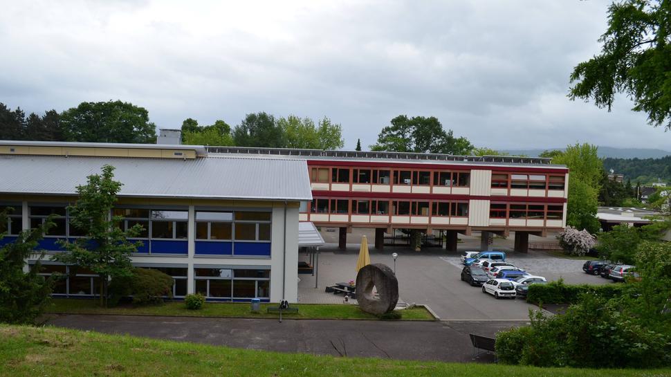 Das Goethe-Gymnasium in Gaggenau.