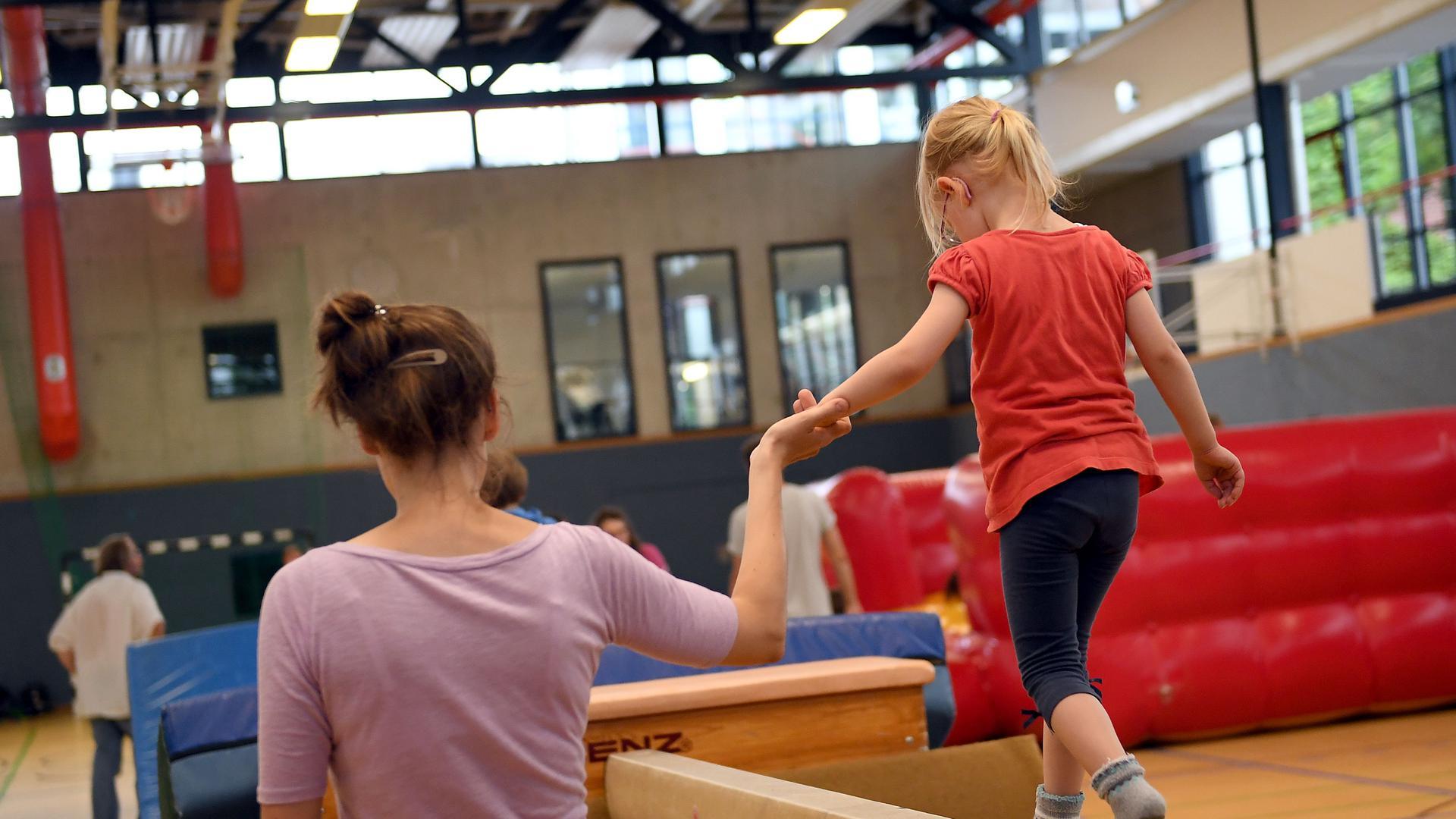 Angebot für Eltern und Kinder: Mit dem Familienbeitrag hofft der TV Bermersbach, mehr Eltern als Mitglieder zu gewinnen und Jugendliche dauerhaft an den Verein zu binden.