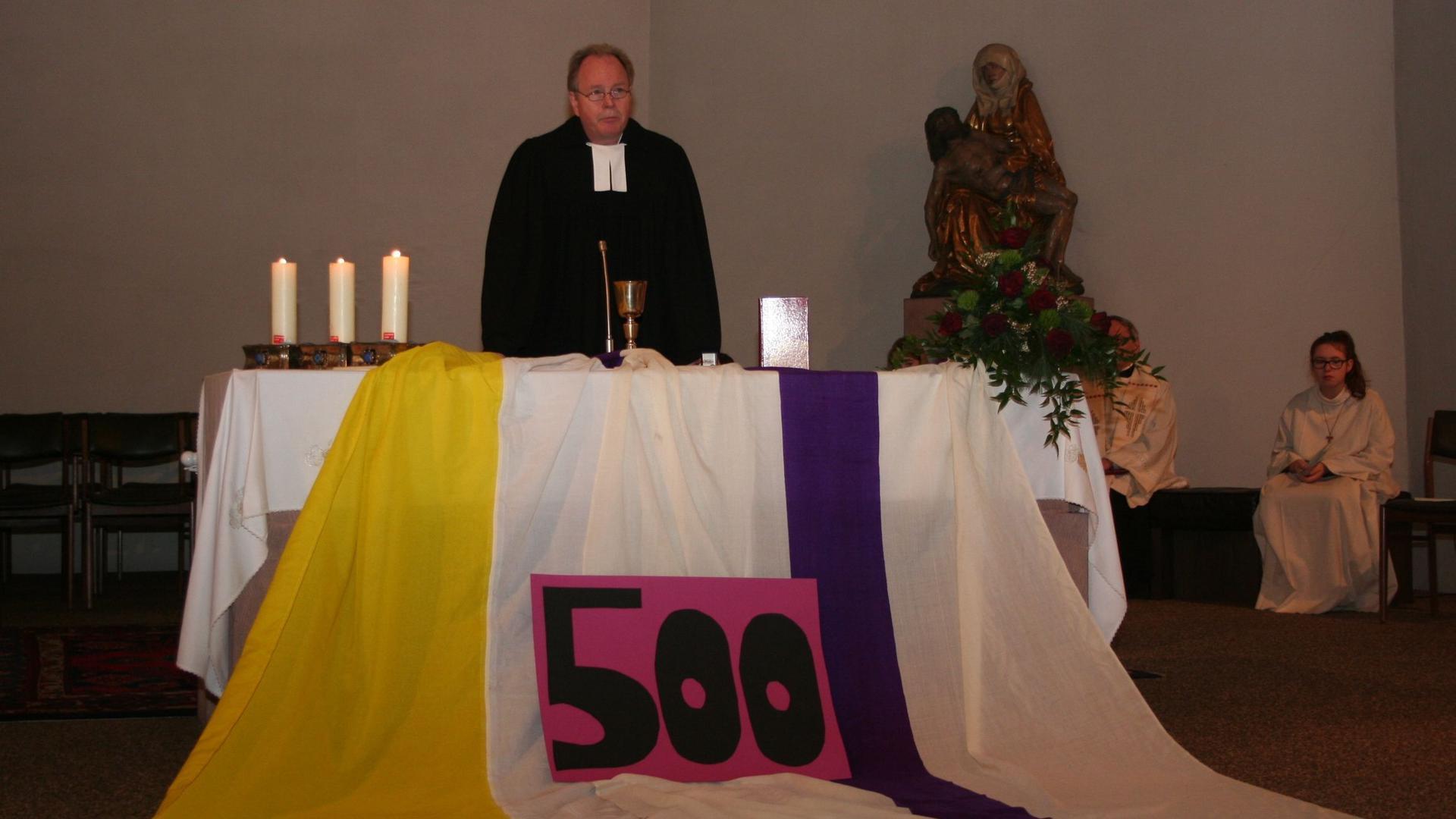 Reformation Pfarrer Ulrich Eger  evangelische Kirche