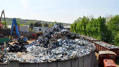 Lang Recycling Schrott Gaggenau Bad Rotenfels Gewerbegebiet Mandic