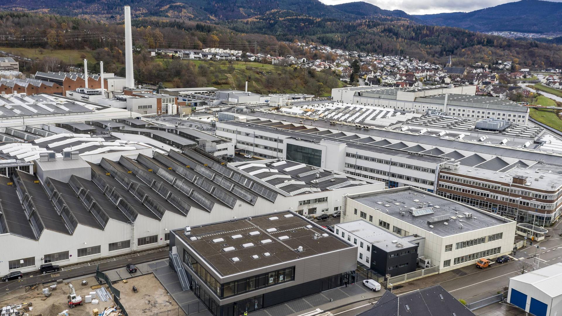 Einweihung Multifunktionsgebäude Daimler Gaggenau Dezember 2018
