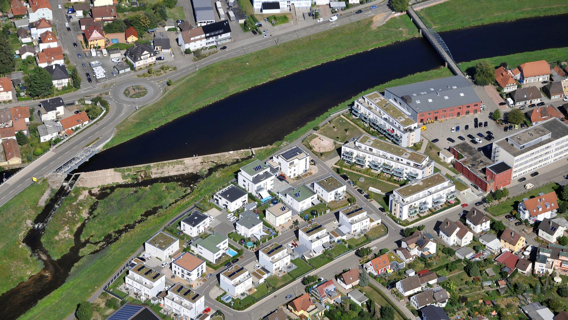 Luftbilder Hammerschmiede Gaggenau Werke Luxusmarke Gaggenau
