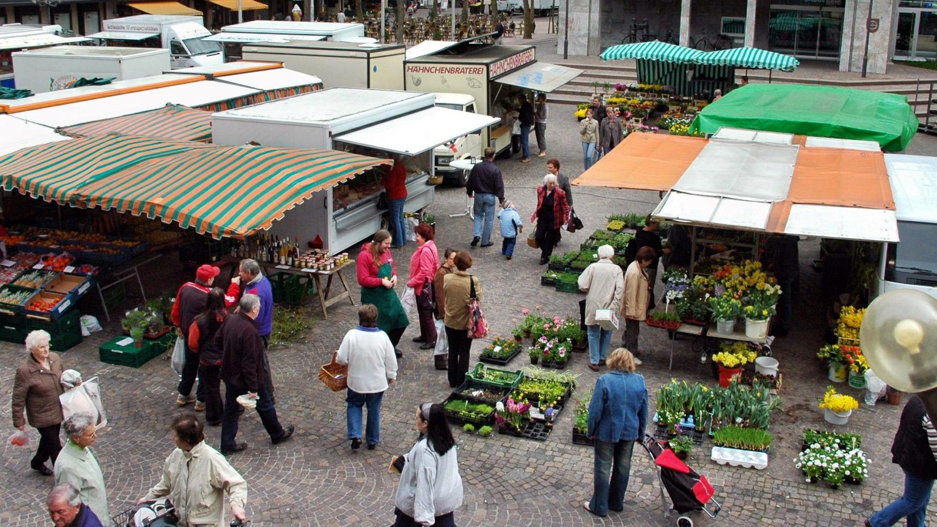 Wochenmarkt Gaggenau