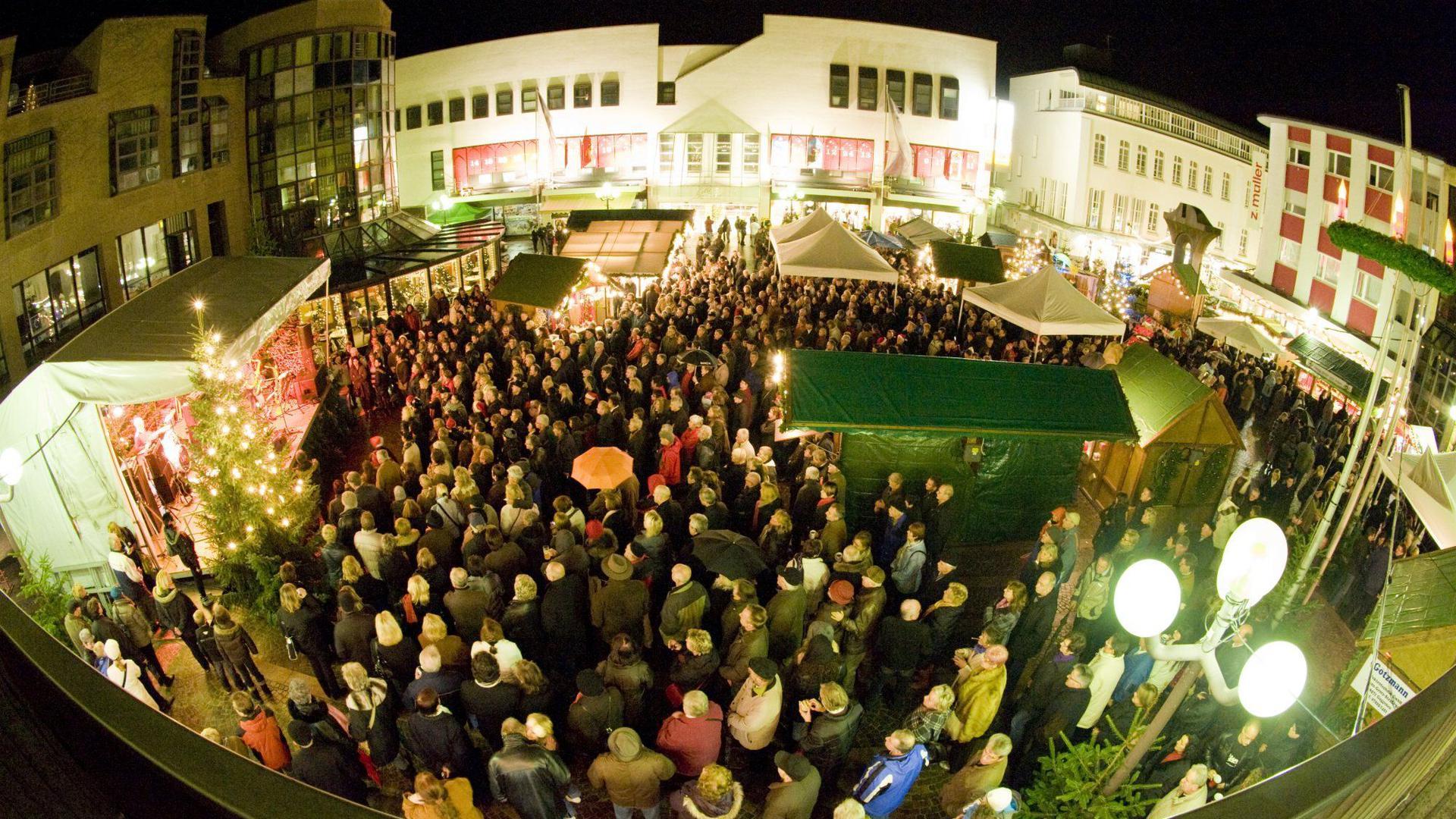 Adventsmarkt Gaggenau Weihnachtsmarkt Marktplatz