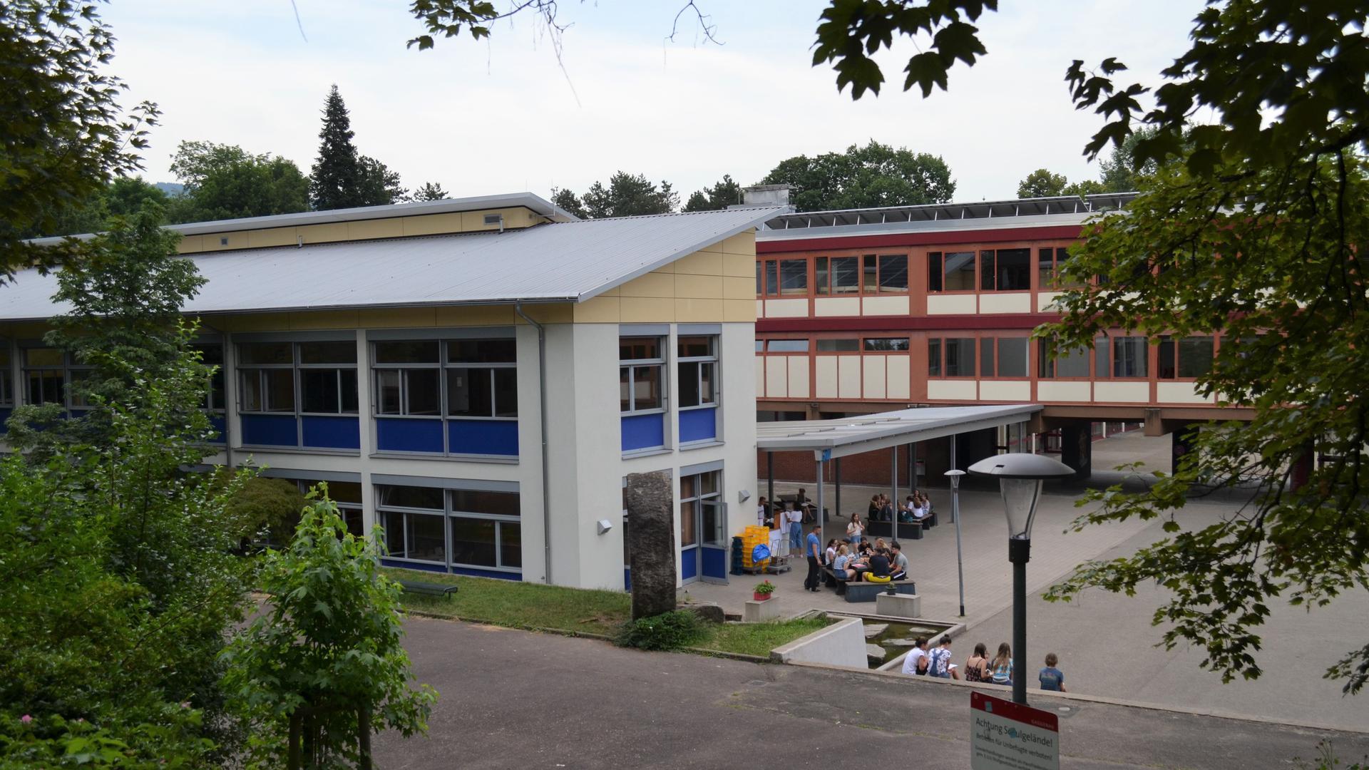 Am -Goethe-Gymnasium Gaggenau werden aktuell 884 Schülerinnen und Schüler, 19 weniger als im vergangenen Schuljahr.