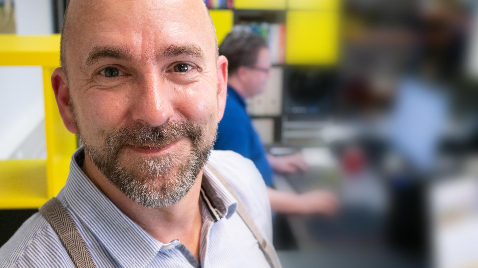 Andreas Krög, Geschäftsführer der Gaggenauer Firma Team2Work.