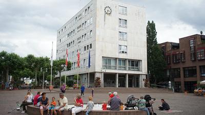Der Rathaus-Platz in Gaggenau