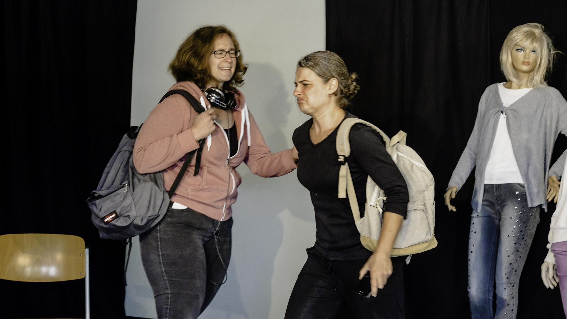 Melanie Maurer und Christine Theberath