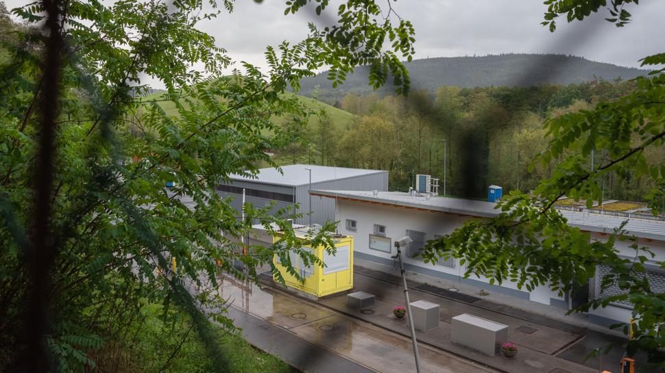 """Die Kapazitäten gehen zur Neige: Auf der Entsorgungsanlage """"Hintere Dollert"""" in Gaggenau-Oberweier stehen nur noch 30.000 Kubikmeter Nutzvolumen zur Verfügung."""