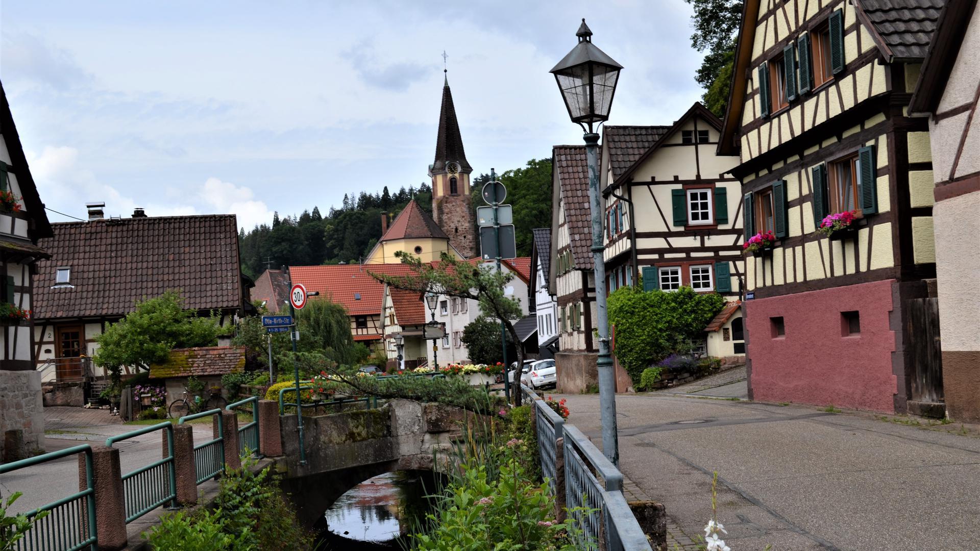 Ortsansicht Gaggenau-Michelbach