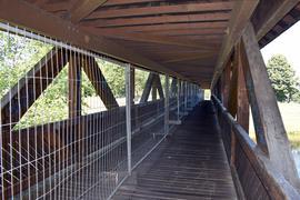 Flößerbrücke in Gaggenau Hörden für Radfahrer und Fußgänger