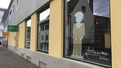 Außenansicht des Friseursalons Stilissimo Elisa Vacca in Gaggenau