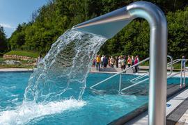 Wasser, Freibad