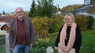 Gerd Pfrommer und Gerlinde Stolle vom künstlerischen Team der Großen-Karnevals-Gesellschaft (GroKaGe)