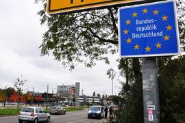 Freie Fahrt: Business as usueal am Samstagmittag an der Grenze zwischen Kehl und Straßburg.