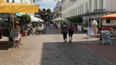Gaggenau, Innenstadt, Straße, Sommer