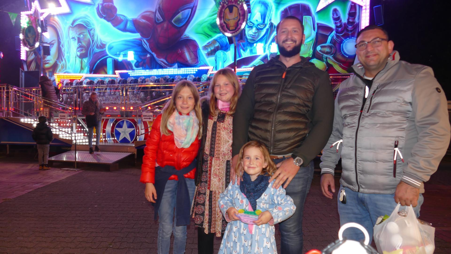 Familien nutzten die Gelegenheit, gemeinsam mal wieder was zu unternehmen