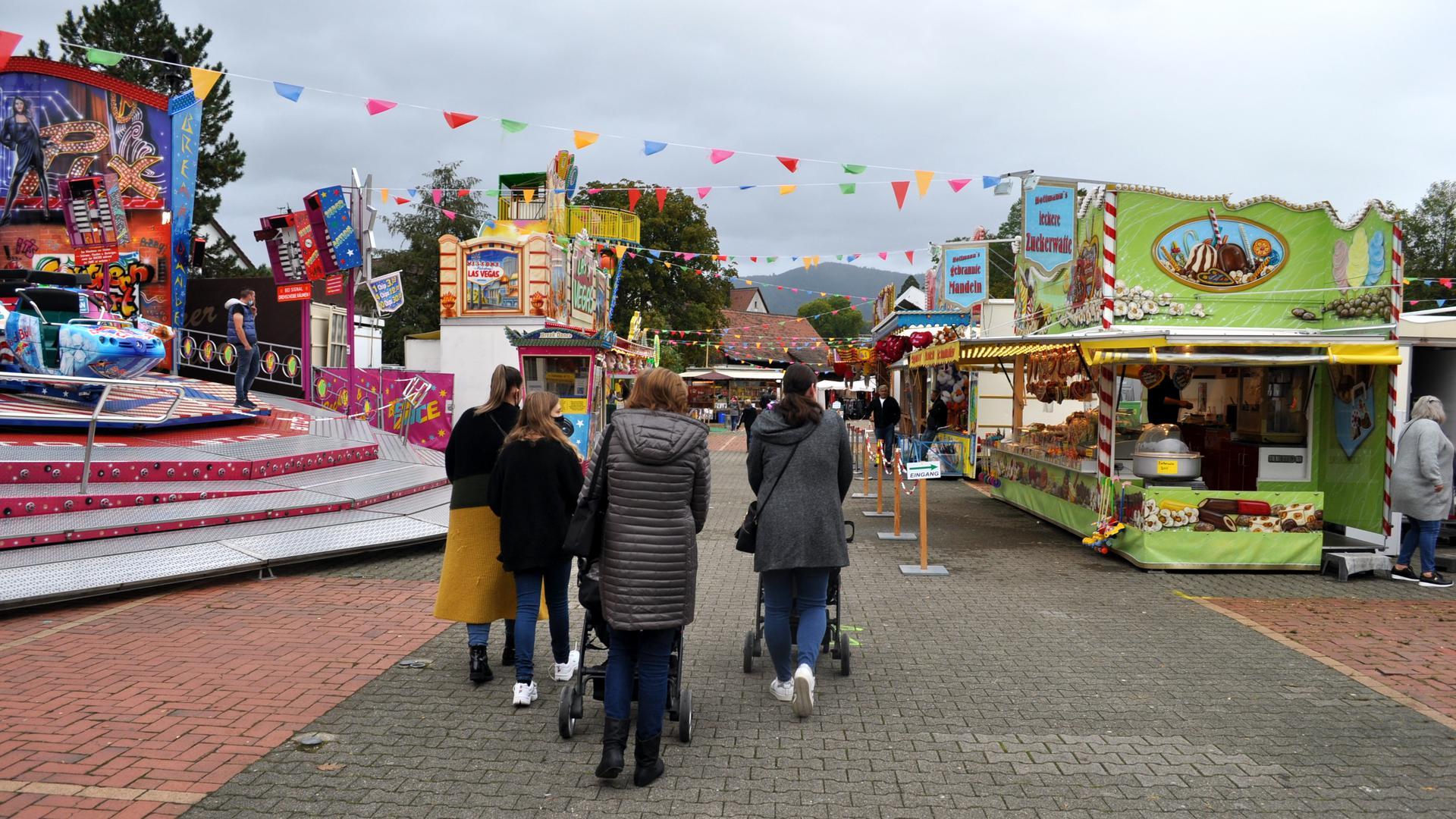 Kleine Herbstmesse Pop up Freizeitpark Gaggenau wegen Corona Gaggenau im Herbst 2020
