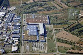 Luftbild Murgtal Presswerk Kuppenheim 2020