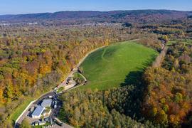 Mülldeponie Gaggenau Oberweier Luftbild