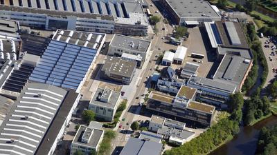 Luftbild Gaggenau Mercedes Verwaltung