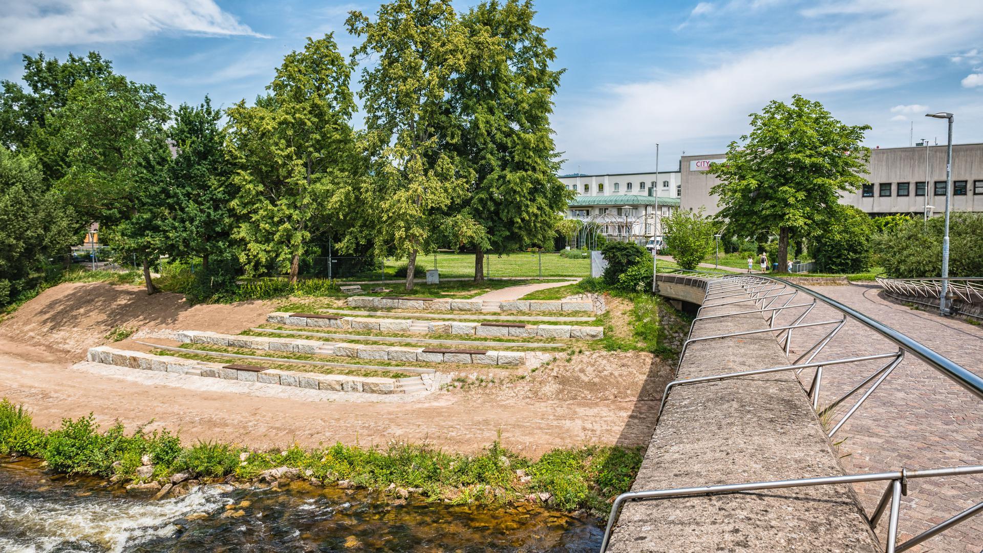 Murgterrassen und Murgpark