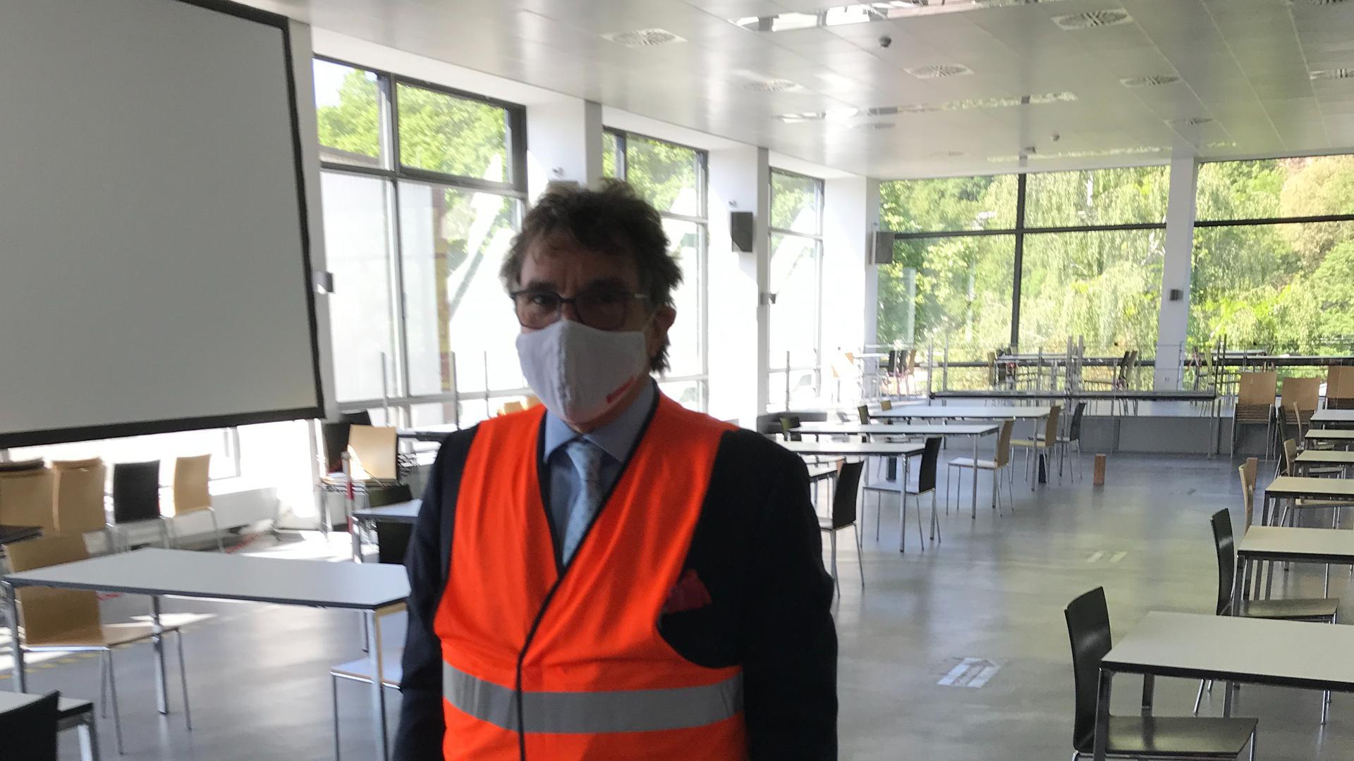 OB Christof Florus Corona Benz-Werk Gaggenau Besichtigung Mai 2020