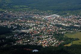Luftbild Gaggenau