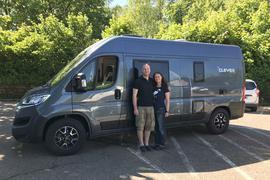 Ein Zuhause auf vier Rädern: Die Gaggenauer Heiko Fütterer und Romi Kugel werden fast ein Jahr lang in ihrem Campervan durch Europa reisen.