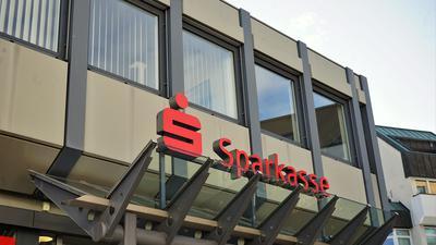 Sparkasse in Gaggenau Außenansicht 2020