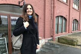 """In guter Nachbarschaft: Direkt neben der Rösterei Eisenwerk liegen die Räumlichkeiten der neuen """"Zahnarztpraxis an der Murg"""". """"Eine eigene Praxis war schon immer mein Ziel"""", sagt Katarzyna Stebel. Sie habe eineinhalb Jahre lang eine Praxis zur Übernahme gesucht. Schließlich entschied sie sich zur Neugründung im ehemaligen Gaggenau-Werk am Medienplatz."""