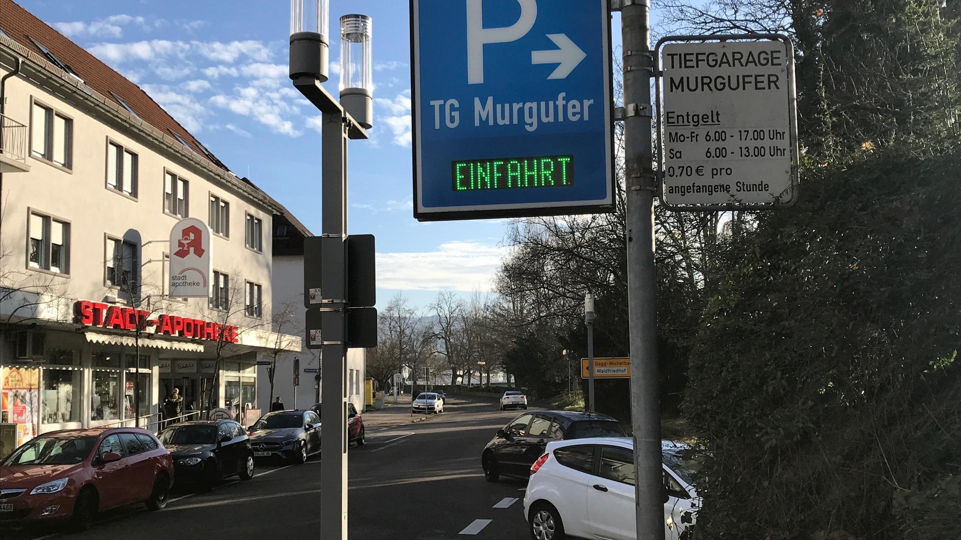 Tiefgarage Murgufer Gaggenau