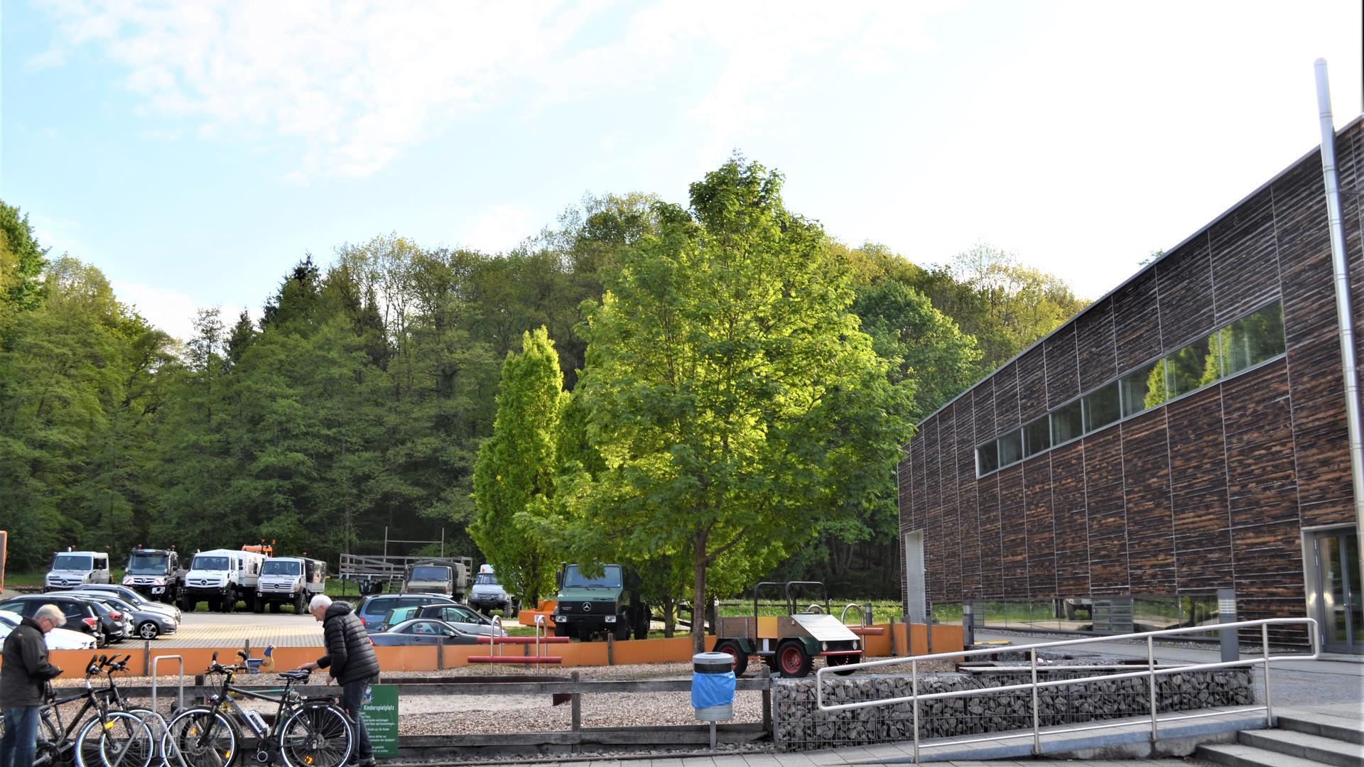 Im Erweiterungsbau des Unimog-Museum neben dem vorhandenen Gebäude soll auch eine 200 Quadratmeter große Fläche entstehen, auf der dauerhaft die städtische Industriegeschichte präsentiert wird.