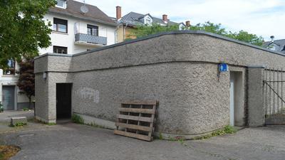 Toilette an Kirche St. Josef Gaggenau