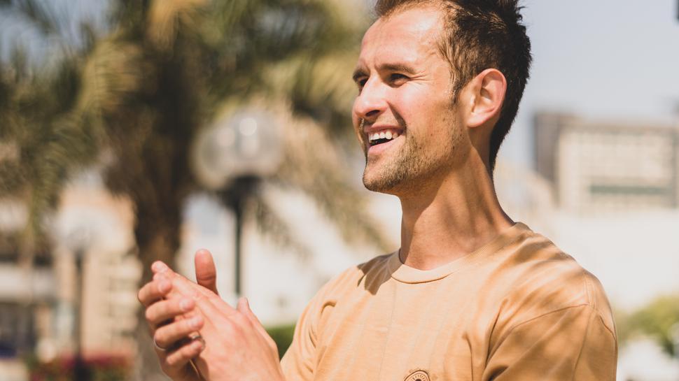 Alex Mizurov ist als Profi-Skateboarder im Olympia-Kader. Momentan muss er sein Fußgelenk schonen