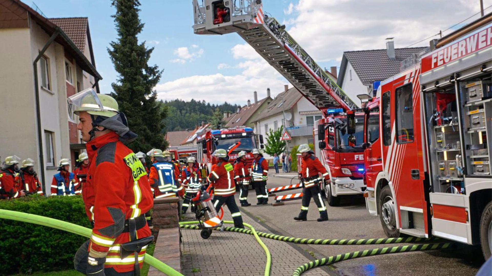 Am Dienstag hat es in einer Küche in der Gaggenauer Furtwänglerstraße gebrannt.