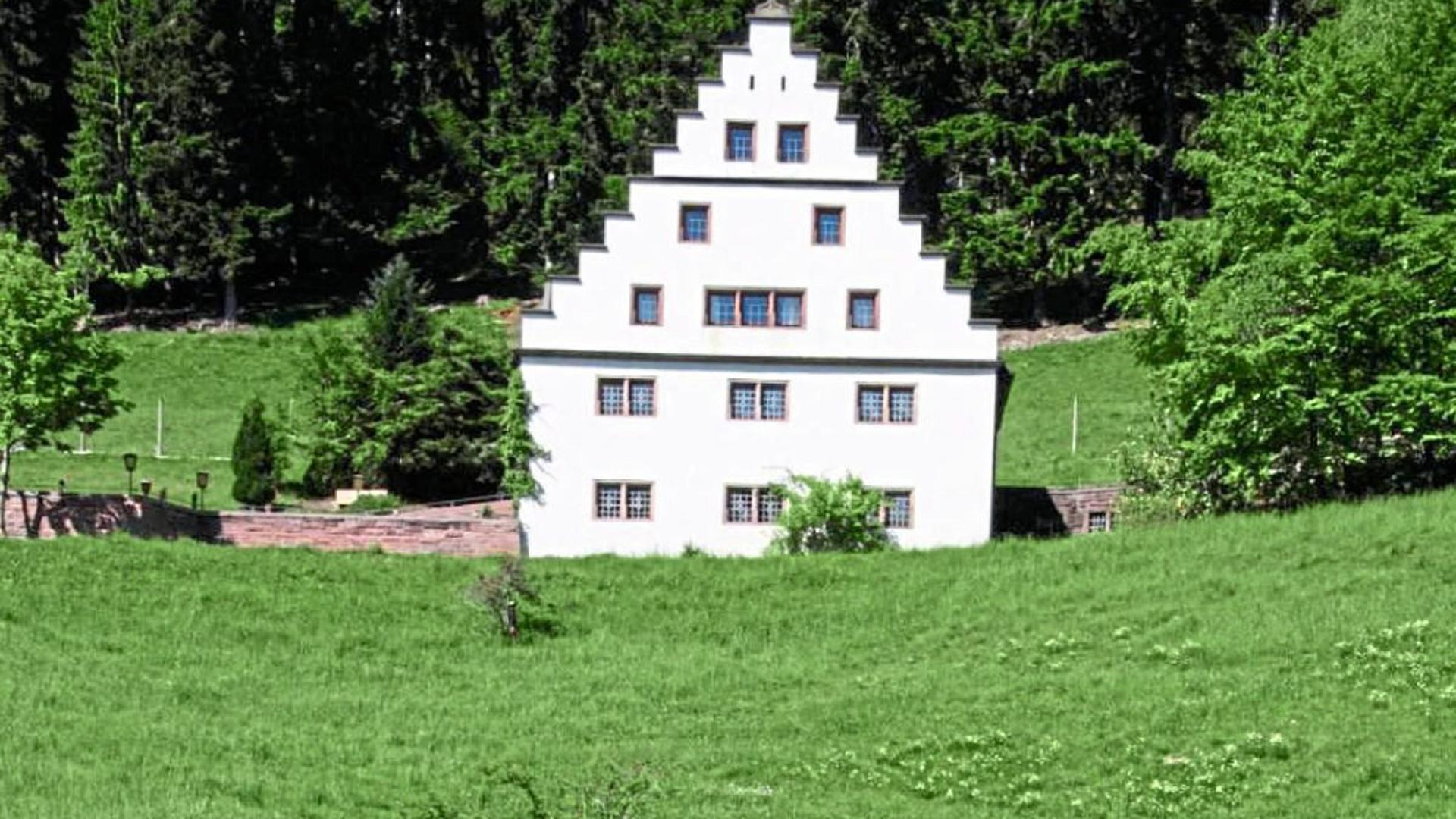 Das historische Bärenschlössle im Christophstal ist einer der Schwerpunkte im Konzept für die Gartenschau 2025 in Freudenstadt und Baiersbronn