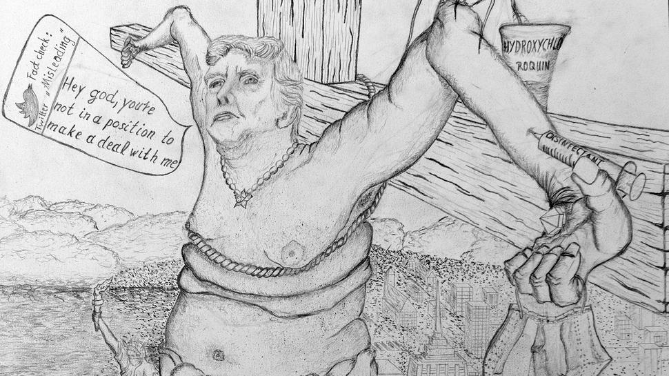 Achim Rietz Karikaturen Trump
