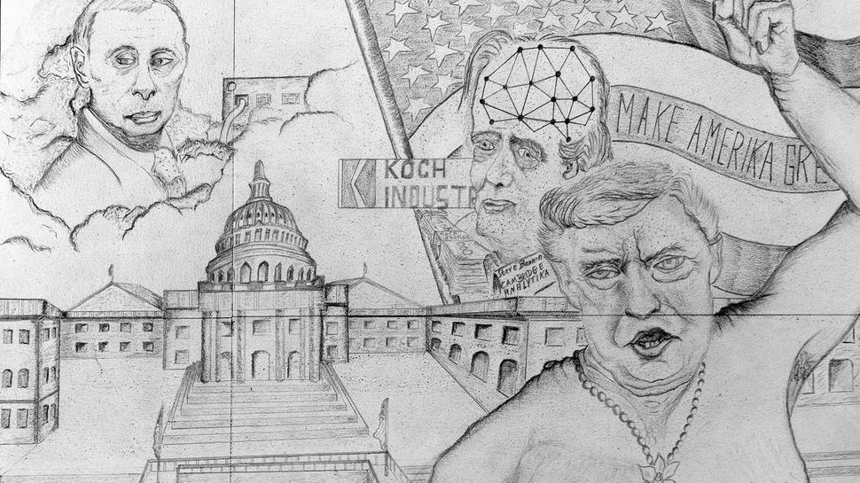 Achim Rietz Karikaturen Donald Trump